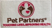 Pet Partners Patch: Click to Enlarge
