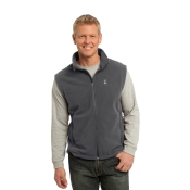 Pet Partners Fleece Vest in Grey: Click to Enlarge
