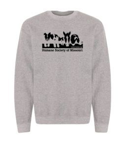 HSMO Sweatshirt Gray: Click to Enlarge