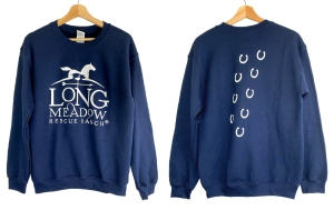LRR Sweatshirt Navy: Click to Enlarge