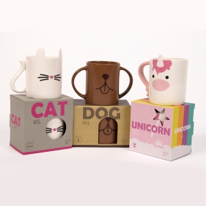 Animal Mugs: Click to Enlarge