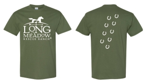 LRR T-Shirt Military Green: Click to Enlarge