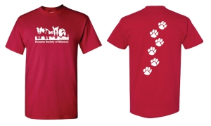 HSMO T-Shirt Red: Click to Enlarge
