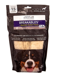 Clenz-A-Dent® Breakable Rawhide Chew: Click to Enlarge