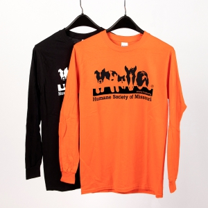 HSMO Longsleeves Shirt Orange Color: Click to Enlarge