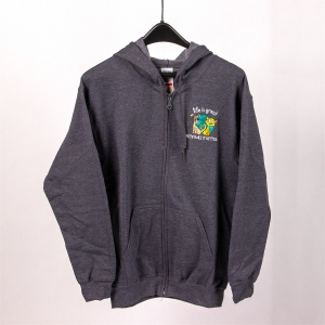 Grey Color Hoodie: Click to Enlarge