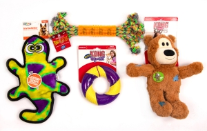 Large Dog Toys (Set of four): Click to Enlarge