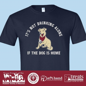 Young Friends of the Humane Society of Missouri Fundraiser T-Shirt: Click to Enlarge
