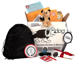 Mission ImPAWsible Activity Kit: Click to Enlarge