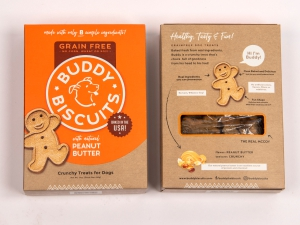 Buddy Biscuit® With Natural Peanut Butter: Click to Enlarge