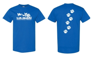 HSMO T-Shirt Blue: Click to Enlarge