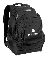 Ogio Back Pack with Embroidered Logo: Click to Enlarge