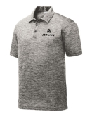 Sport-Tek PosiCharge Electric Heather Polo: Click to Enlarge