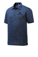 Mens PosiCharge Electric Heather Polo: Click to Enlarge