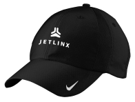 Nike Black Caps with Jetlinx Logo: Click to Enlarge