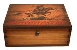 Wooden Desk Top Ammo Box: Click to Enlarge