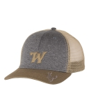 Truck Cap with Buck Head and Embroidered Logo: Click to Enlarge