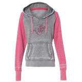 Hoodie Soft Pink/Gray H&R: Click to Enlarge