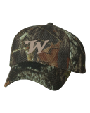 Mossy Oak Cool Mesh Back Cap with Embroidered Logo: Click to Enlarge