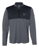 Winchester Adidas Quarter Zip: Click to Enlarge