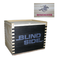 Box - Wooden - Blind Side: Click to Enlarge