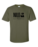 100% Cotton T-Shirt Army Green: Click to Enlarge