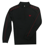 Pullover - Nike Red and Black: Click to Enlarge