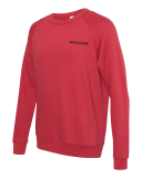 Lightweight Terry Pullover with Embroidered Logo: Click to Enlarge