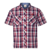 Shirt - Plaid - Short Sleeve: Click to Enlarge