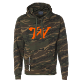 Hoodie - Camo with Bottle Opener: Click to Enlarge