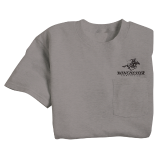 T-Shirt - Pocket/Dark Gray: Click to Enlarge