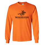 T-Shirt - Orange LS: Click to Enlarge