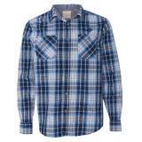 Shirt - Plaid Long Sleeve: Click to Enlarge