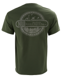 100% Cotton Classic Fit T-Shirt Military Green: Click to Enlarge