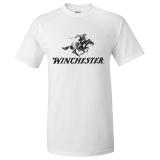 T-Shirt - White With Black H&R: Click to Enlarge