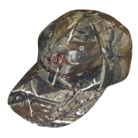 Cap - Camo With LED Lights: Click to Enlarge