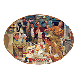 W1003 Winchester Duck Camp Tin Sign: Click to Enlarge