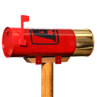 W2002 Mailbox - AA Shotshell: Click to Enlarge