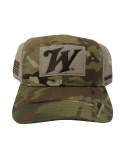 Unstructured 6-panel - hook and loop - multicam tactical cap: Click to Enlarge