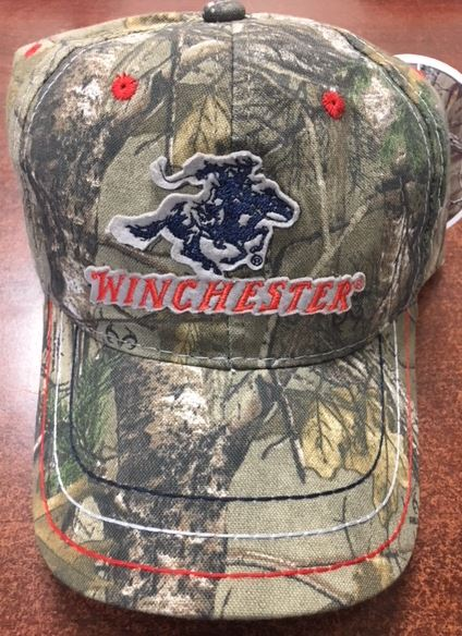 34aa45f79c Camo Cap with Winchester Patched Logo