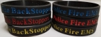 BackStoppers Wrist Bands: Click to Enlarge
