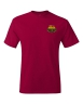 Hanes - Tagless T-Shirt - Deep Red: Click to Enlarge