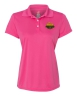 Hanes - Cool Dri Womens Sport Shirt - Pink: Click to Enlarge