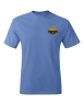 Hanes - Tagless T-Shirt - Caroline Blue: Click to Enlarge