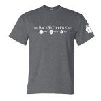 The Backstoppers T-Shirt - Grey: Click to Enlarge