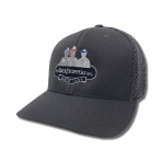 Grey FlexFit Cap: Click to Enlarge