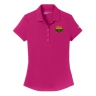 Nike Golf Ladies Dri-FIT Players Modern Fit Polo - Fuscia: Click to Enlarge