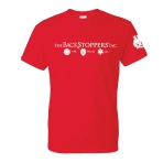 The Backstoppers T-Shirt - Red: Click to Enlarge