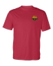 Badger - B-Core Short Sleeve T-Shirt - Red: Click to Enlarge