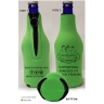 Scuba Zipper Bottle Holder - Lime: Click to Enlarge